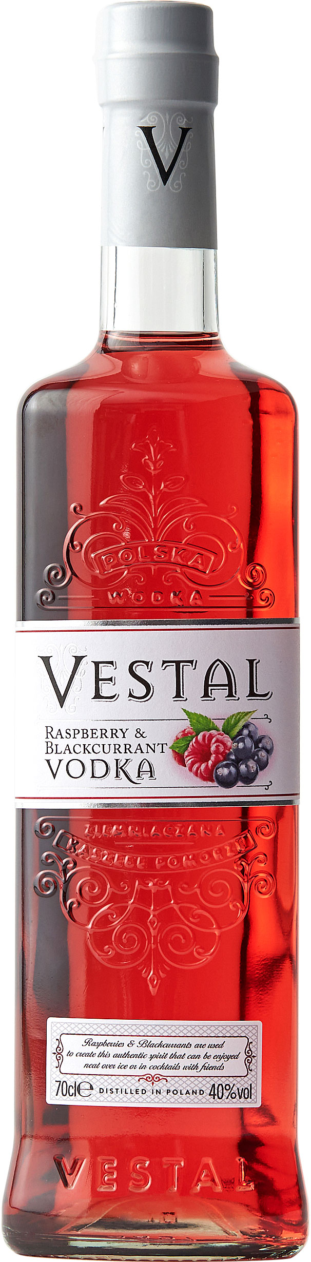 Vestal - Raspberry & Blackcurrant Vodka 70cl Bottle