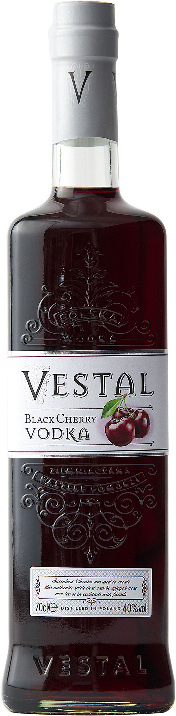 Vestal - Black Cherry Vodka 70cl Bottle