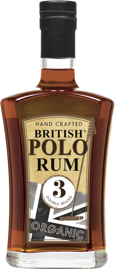 British Polo Gin - Organic Double Spiced Rum 70cl Bottle