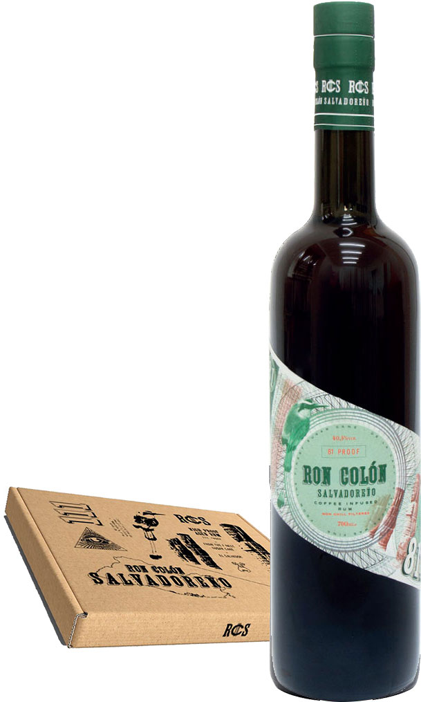 Ron Colon - Coffee Infused Rum 70cl Bottle