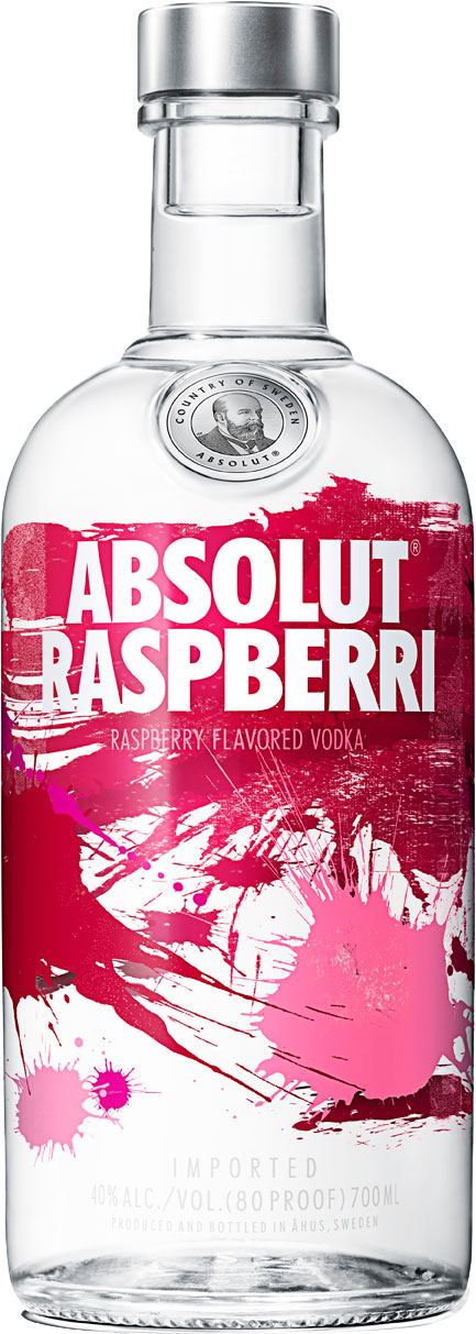 Absolut - Raspberri (Raspberry) 70cl Bottle