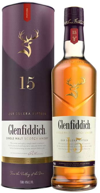 Glenfiddich - Solera Reserve 15 Year Old 70cl Bottle
