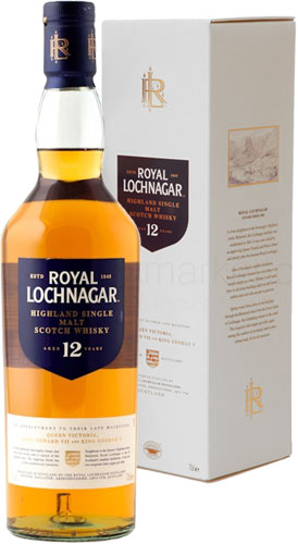 Royal Lochnagar - 12 Year Old 70cl Bottle