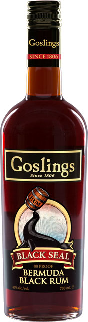 Goslings - Black Seal Rum 70cl Bottle