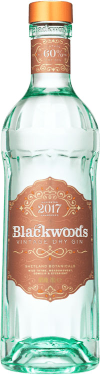 Blackwoods - 60 Vintage Dry Gin 70cl Bottle