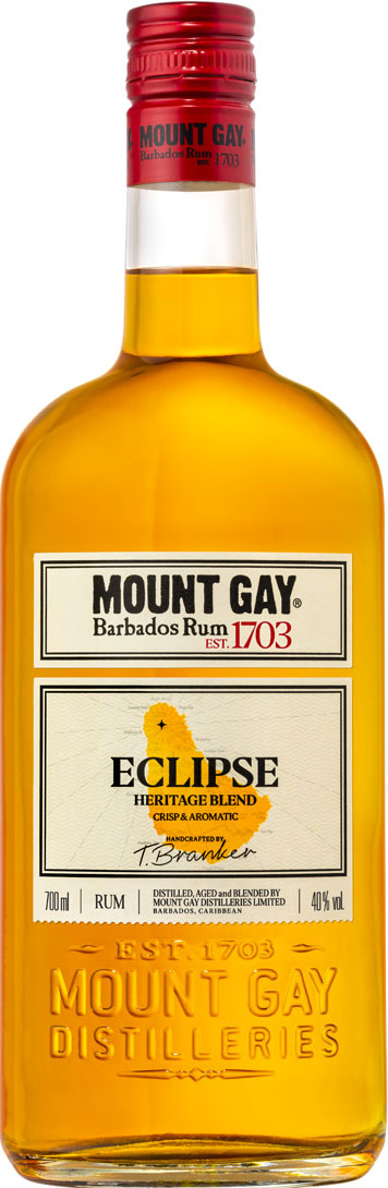 Mount Gay Rum - Eclipse 70cl Bottle