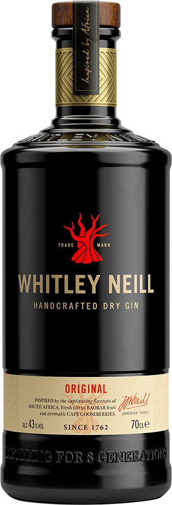 Whitley Neill - Original Gin 70cl Bottle