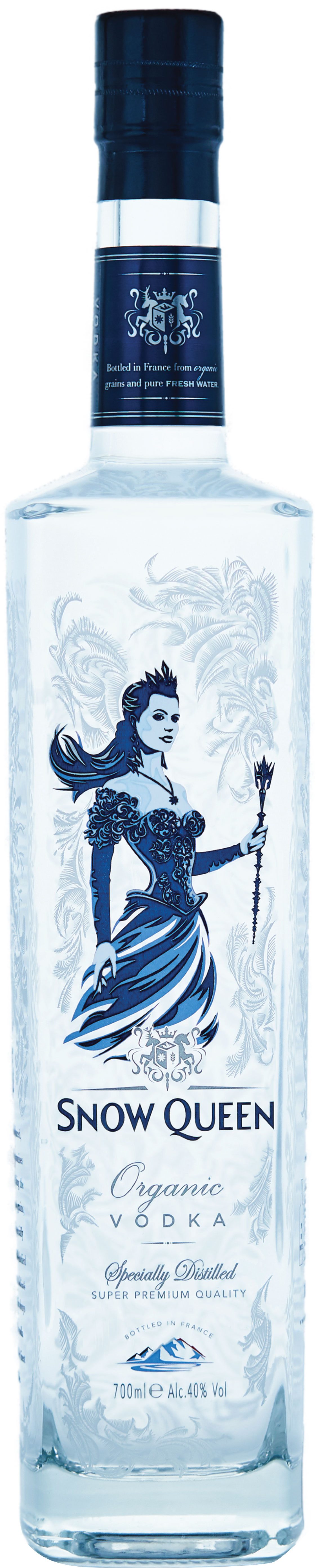 Snow Queen Vodka 70cl Bottle