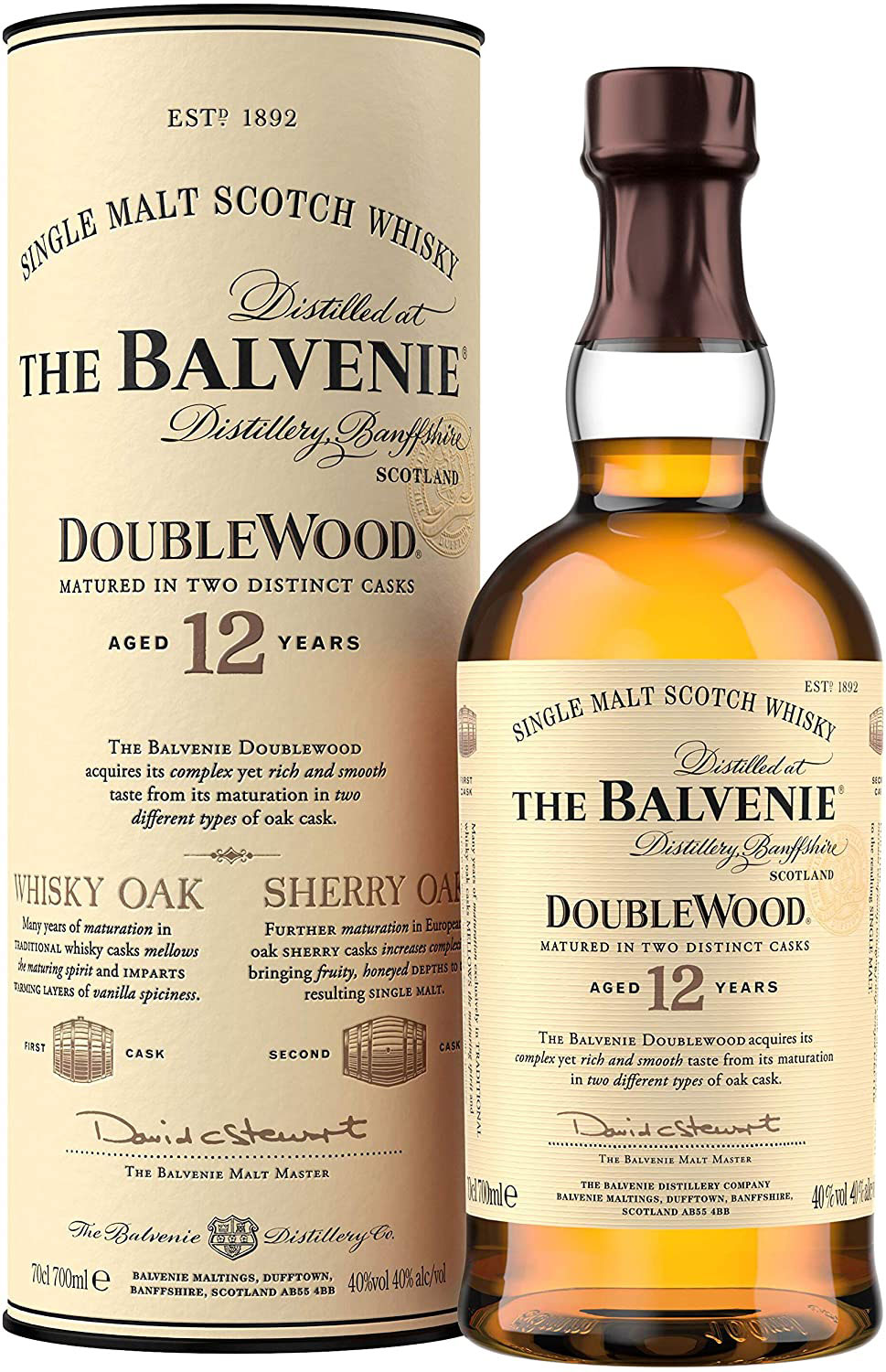 Balvenie - Doublewood 12 Year Old 70cl Bottle