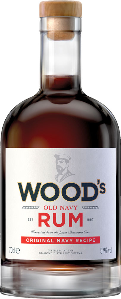 Woods - Old Navy Rum 70cl Bottle