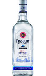 Finsbury - London Gin Platinum 47% 70cl Bottle
