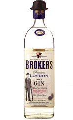 Brokers - Gin 70cl Bottle