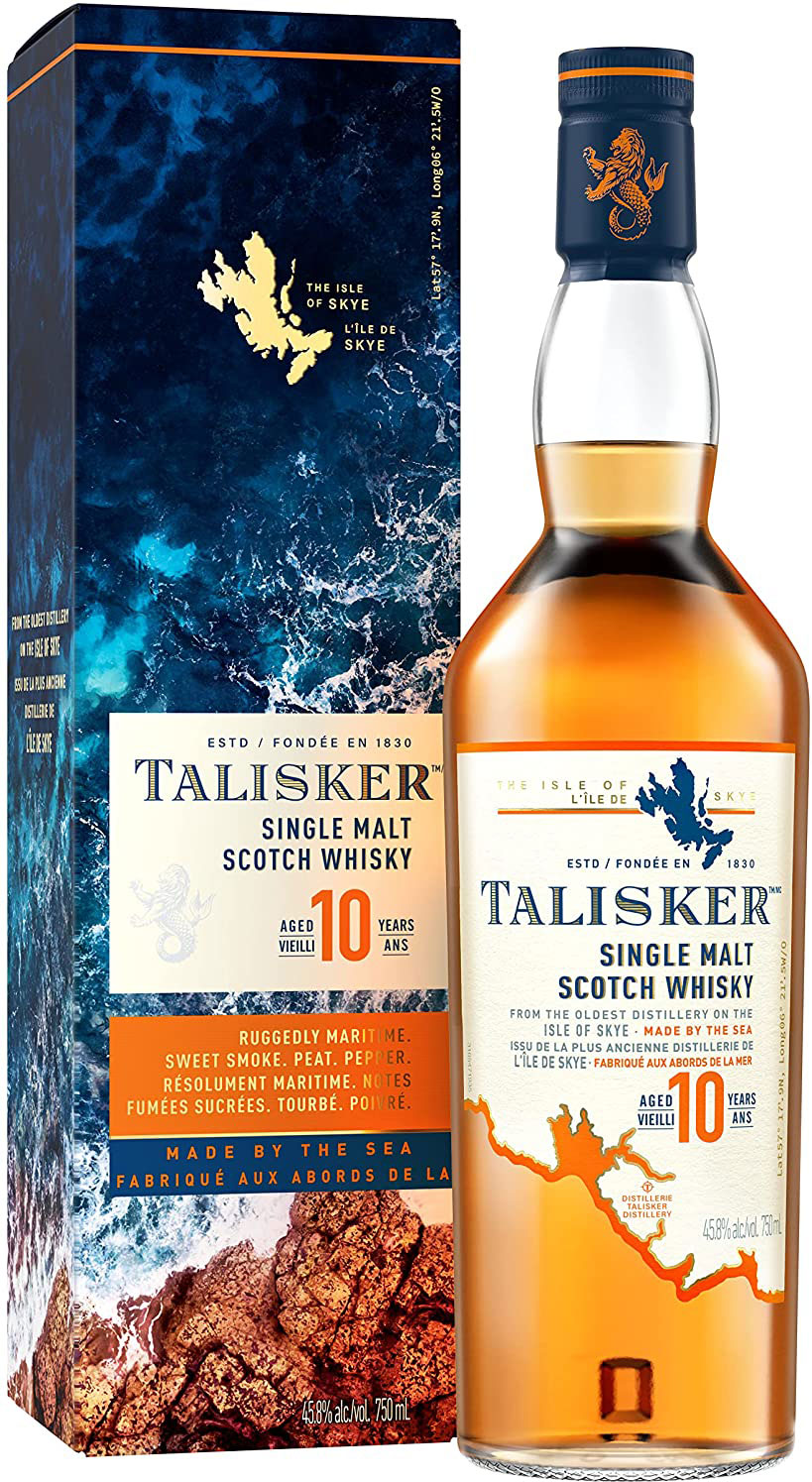 Talisker - 10 Year Old 70cl Bottle
