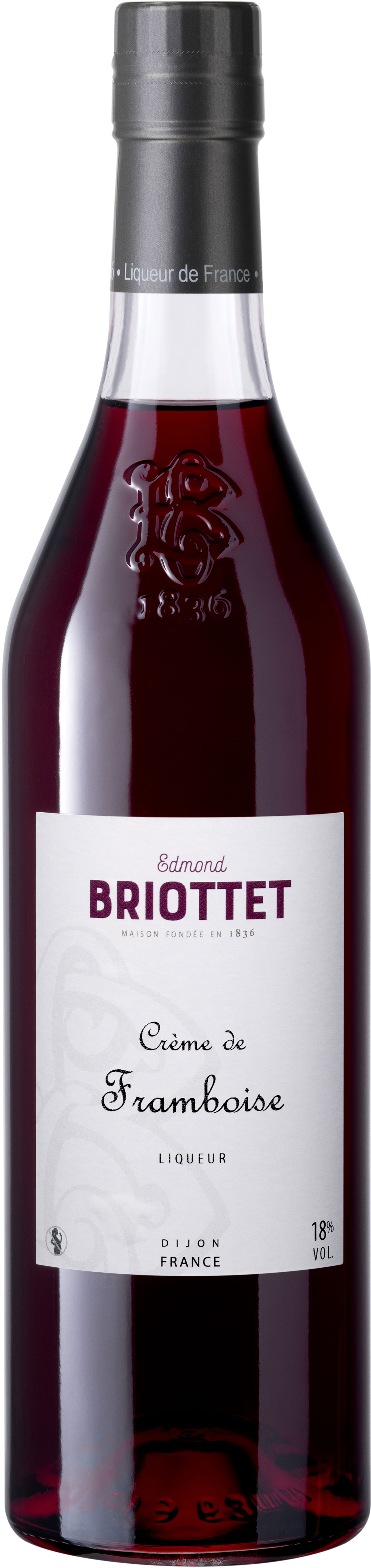 Briottet - Creme de Framboise (Raspberry) 70cl Bottle