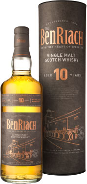 Benriach - 10 Year Old Classic Speyside 70cl Bottle