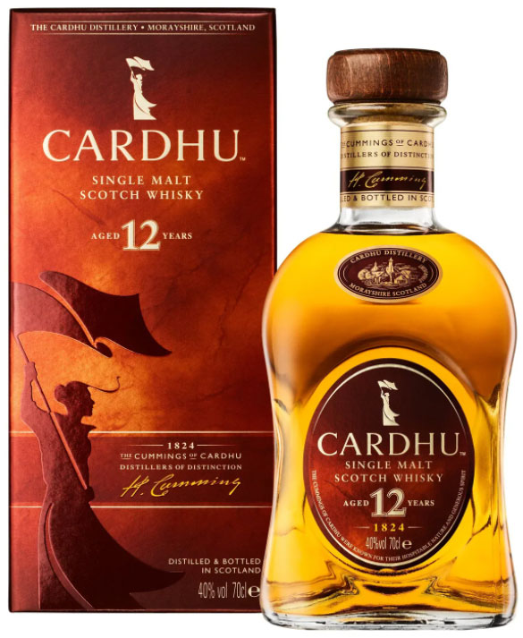 Cardhu - 12 Year Old 70cl Bottle