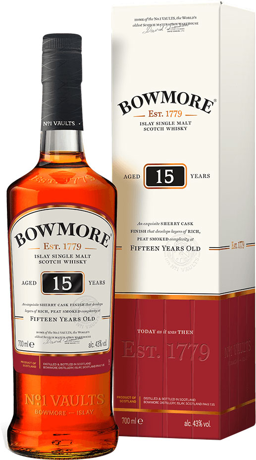 Bowmore - 15 Year Old 70cl Bottle