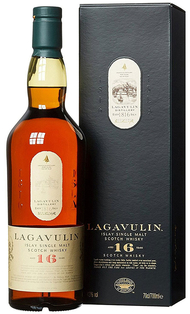 Lagavulin - 16 Year Old 70cl Bottle