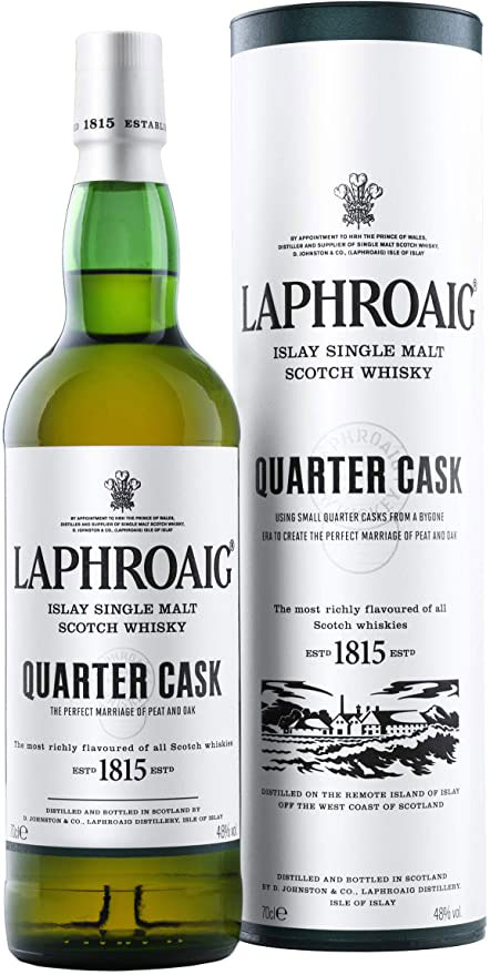 Laphroaig - Quarter Cask 48% 70cl Bottle