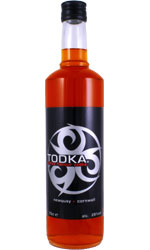 TODKA  Toffee Vodka 70cl Bottle