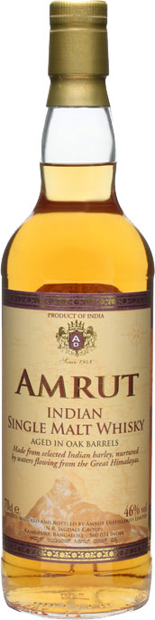 Amrut  Single Malt 70cl Bottle