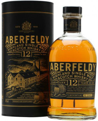 Aberfeldy - 12 Year Old 70cl Bottle.