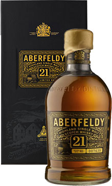 Aberfeldy - 21 Year Old 70cl Bottle.