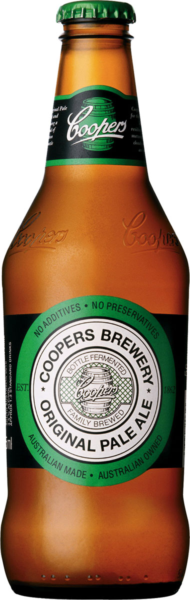 Coopers - Pale Ale 24x 375 Bottles.