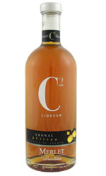 Merlet - C2 Cognac and Lemon 70cl Bottle