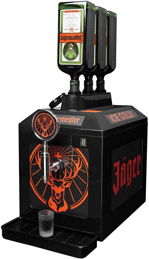 Jagermeister 3 Bottle Tap Machine Accessories Thedrinkshop Com