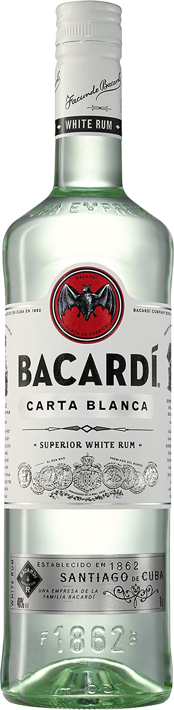 Bacardi - Carta Blanca 1.5 Litre Bottle