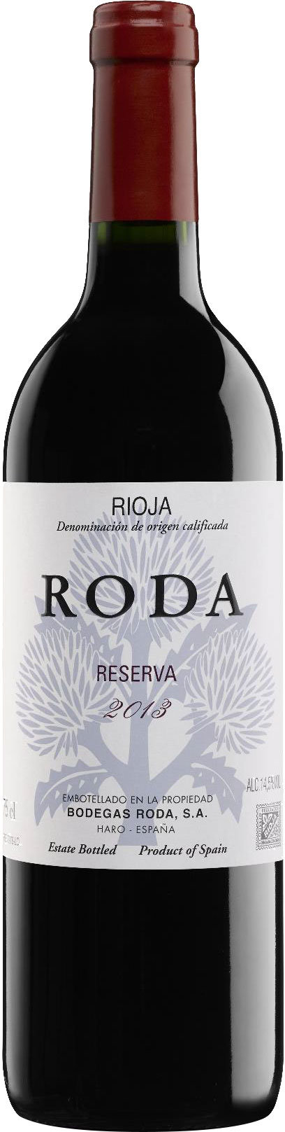 Bodegas Roda - Roda Reserva 2013 75cl Bottle