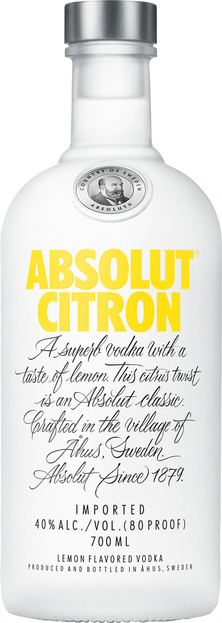 Absolut - Citron (Lemon) 70cl Bottle
