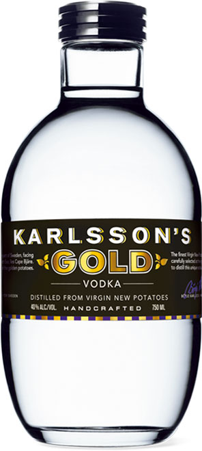 Karlssons - Gold Vodka 70cl Bottle