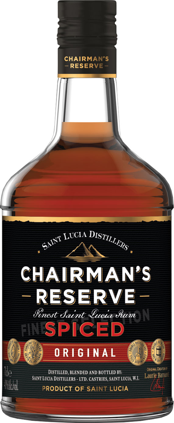 Chairmans Reserve - Spiced Rum 70cl Bottle