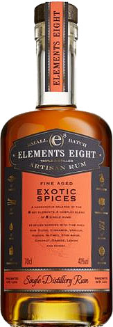 ELEMENTS EIGHT  Spiced Rum 70cl Bottle