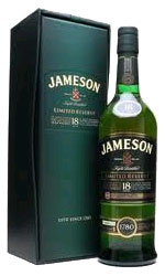 Jameson  18 Year Old Limited Reserve 70cl Bottle