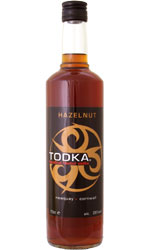 Todka - Hazelnut Vodka 70cl Bottle