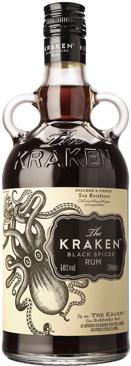 Kraken - Black Spiced Rum 70cl Bottle