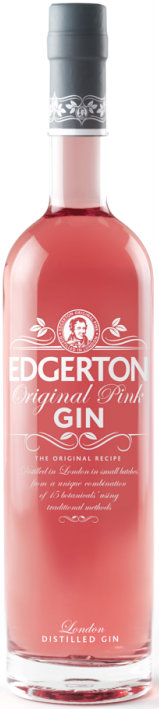 Edgerton - Original Pink Dry Gin 70cl Bottle