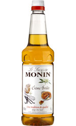 MONIN  Creme Brulee 1 Litre Bottle