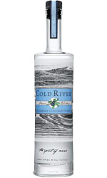 COLD RIVER  Blueberry Vodka 70cl Bottle