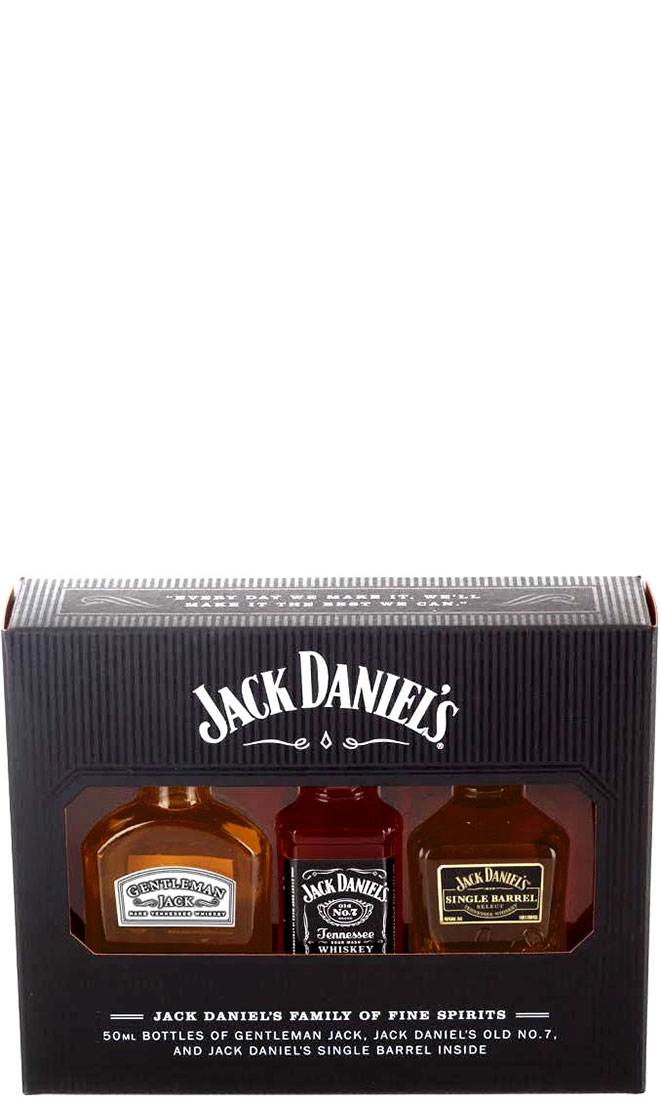 Jack Daniels - Family 3x 5cl Miniatures