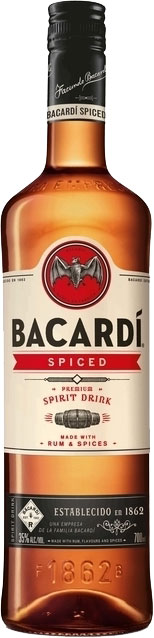 Bacardi - Spiced Rum 70cl Bottle