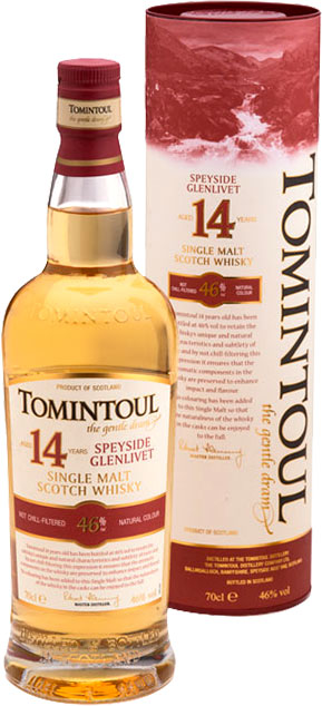 Tomintoul - 14 Year Old 70cl Bottle