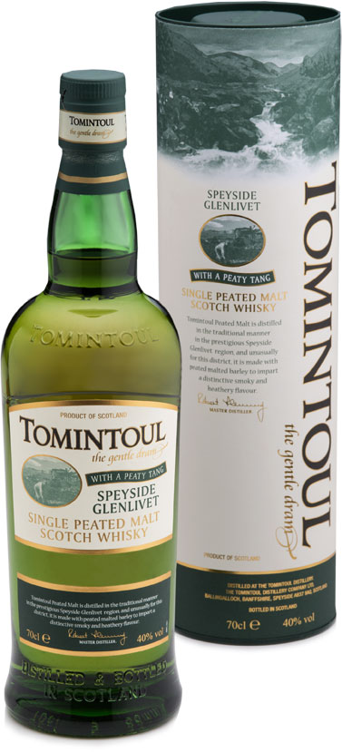 Tomintoul - Peaty Tang 70cl Bottle