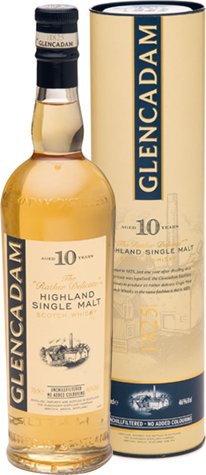 Glencadam - 10 Year Old 70cl Bottle