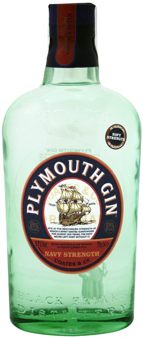 Plymouth - Navy Strength Gin 70cl Bottle