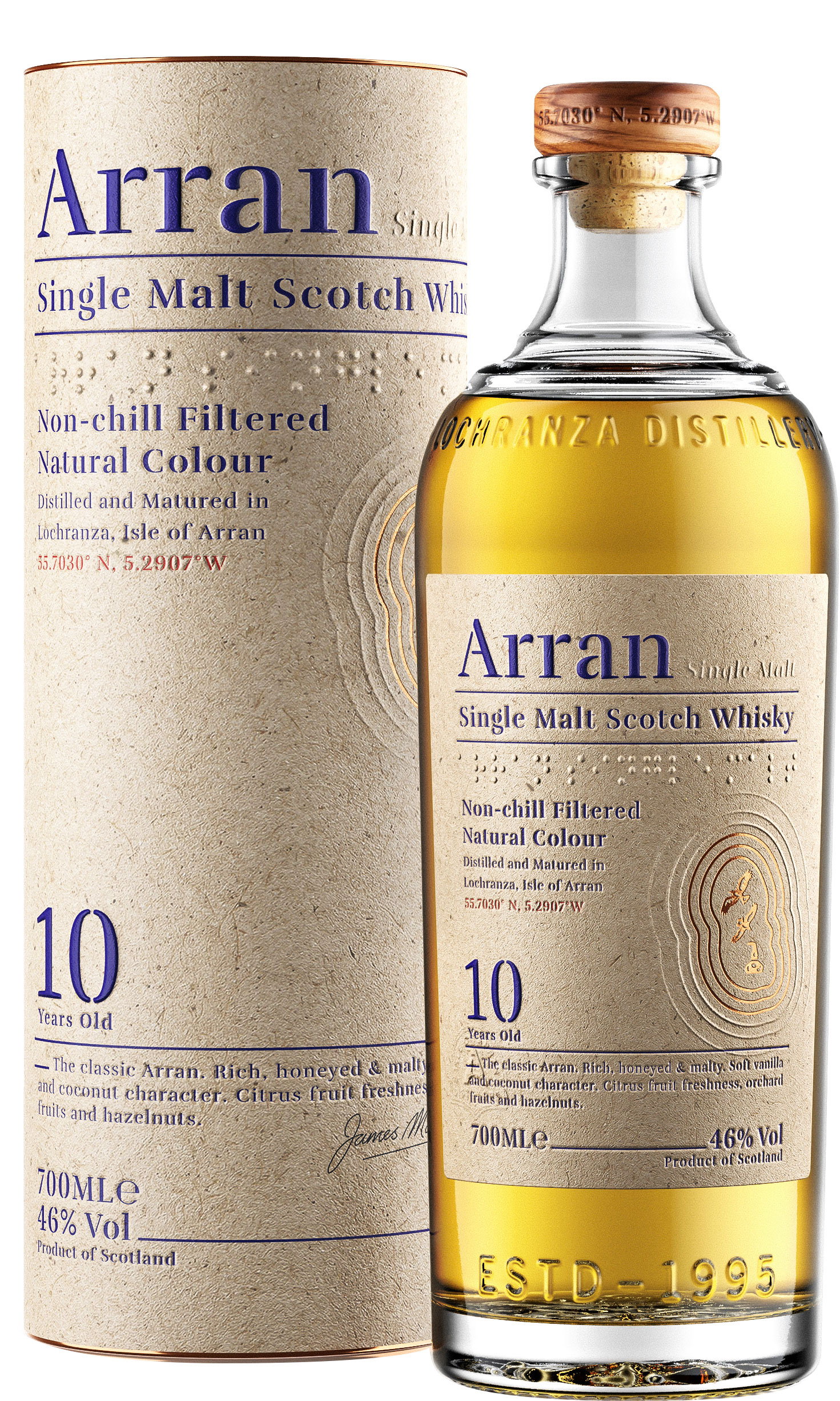 Arran - 10 Year Old 70cl Bottle