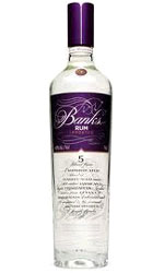 Banks Rum - 5 Island Rum 70cl Bottle